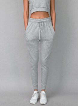 KASSY JOGGER TROUSERS - SKINNY FIT - GRAY 케이시 조거 트라우져 - 스키니핏 - 그레이