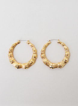 ENTRA RING EARRING - GOLD 엔트라 링 귀걸이 - 골드