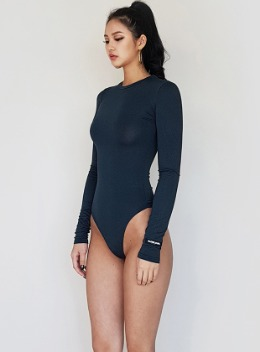 JENNER LONG SLEEVE BODYSUIT - 5colors 제너 바디수트 - 5컬러