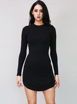 JENNER RONG SLEEVE BODYCON DRESS - 3colors  제너 롱슬리브 바디콘 드레스 - 3컬러
