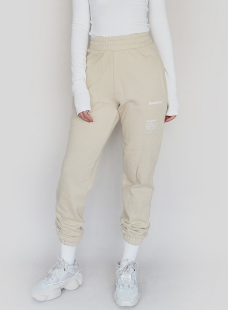 BADBLOOD ESSENTIAL JOGGER TROUSERS - 2colors 배드블러드 에센셜 조거 트라우져 - 2컬러