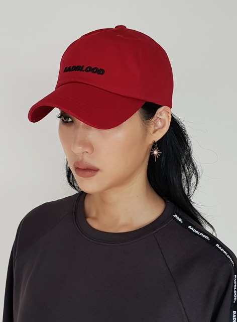 BADBLOOD EMBROIDERY BALLCAP - 4colors 배드블러드 자수 볼캡 - 4컬러